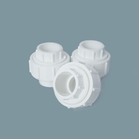 PVC Quick Connect Fittings Water Supply PVC Union Joint