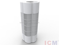 100% created in China PM2.5 Hunter Air Purifier with CADR 482 m3/h max power 40w