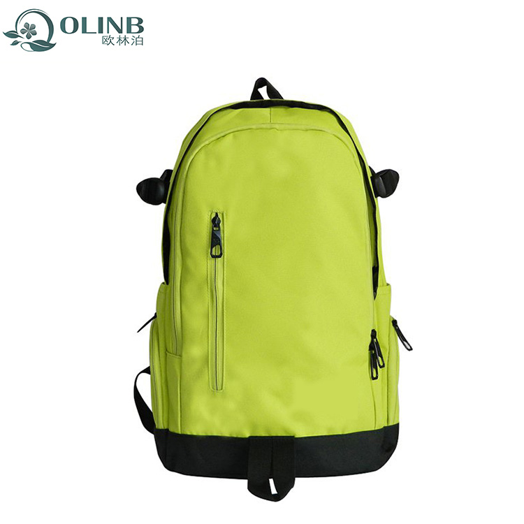 Fashional Green Backpack School Bag Scool Travel Laptop Computer Sport Bags For Young People