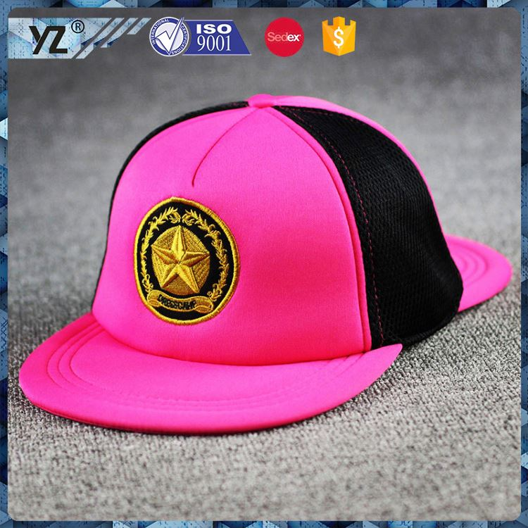 Latest product trendy style wholesale glowing snapback hat with good price