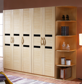 Modern Bedroom Solid Wood Wardrobe Closet Designer Almari FROM Primahousing