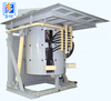 induction coreless hydraulic steel shell melting furnace for metal melting