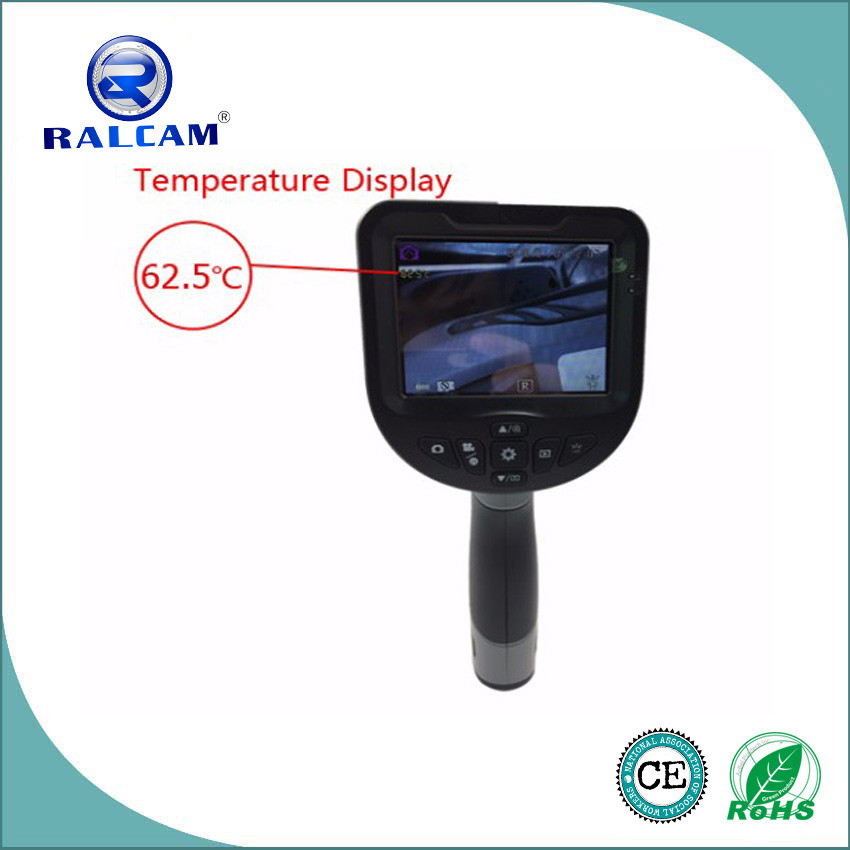 video recording D8.5mm camera 3.5 inch HD LCD portable industrial endoscope