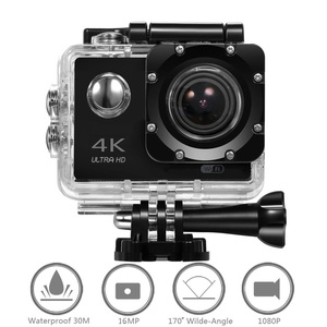 DveeTech CE RoHS FCC wifi action camera 4k,sport camcorder with remote control,16MP mini action cam