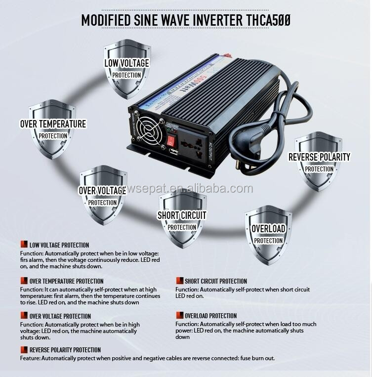Trade assurance 300aw 500W 800w 1000w 1200w 1500w inverter with charger