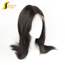 2017 New fashion natural cheap 100% virgin bald man wig