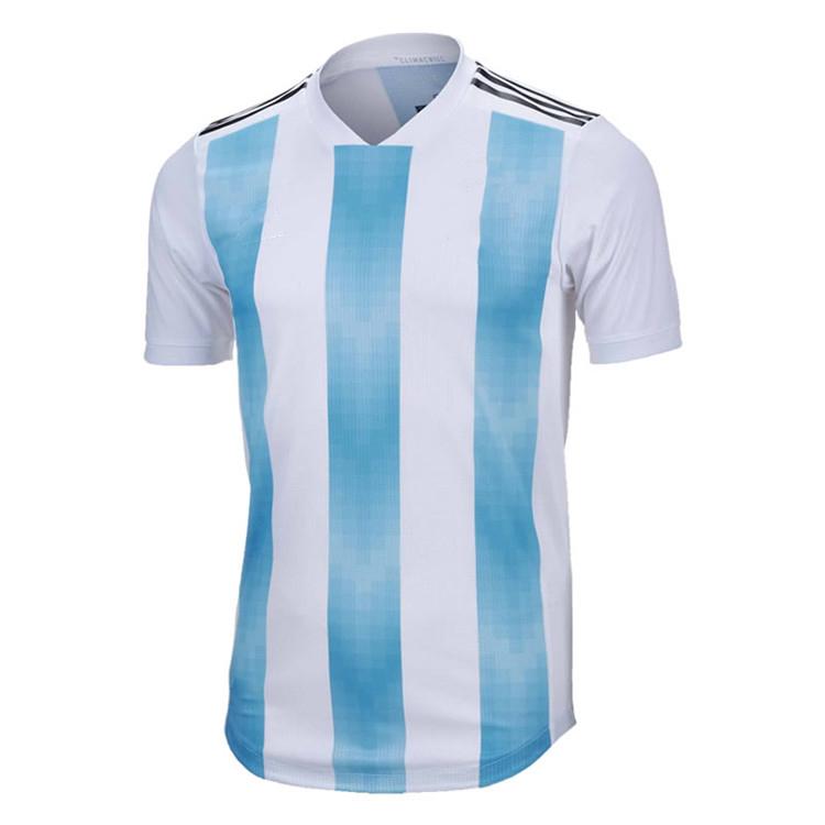 buy popular c0f15 8b4b9 2018world Cup Argentina National Team Sublimation Football T-shirt,Oem  Soccer Jersey - Buy Top 10 National Soccer Teams Jersey,Team Soccer Jerseys  ...