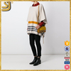 New Arrival women's knitted sweater, knitted women's pullover cashmere poncho
