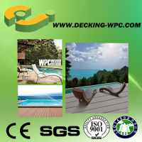 Eco and easy to install- cheap outdoor wood plastic wpc veranda deck tiles from China!