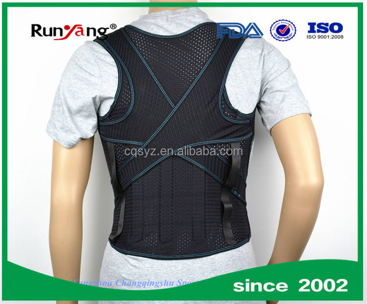 high quality posture corrector braces manufactured in China