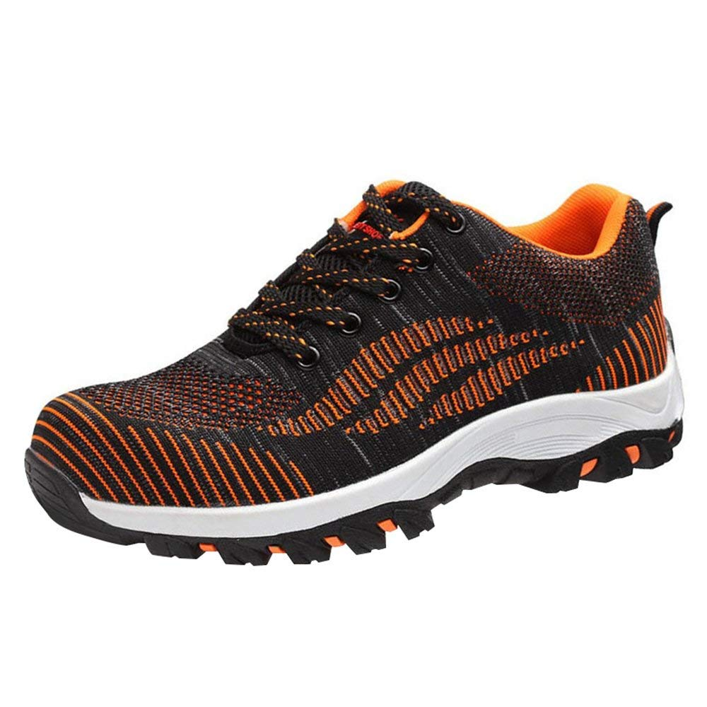 eab9873c8b9 Get Quotations · Optimal Men's Safety Shoes Work Shoes Comp Steel Toe Shoes
