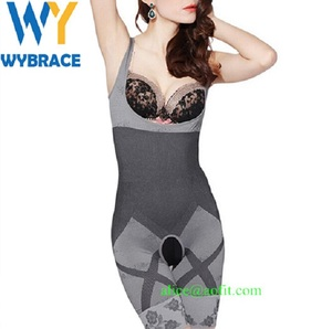 Wybrace New Product Sexy Body Beauty Underwear Women Bamboo Slimming Body Shaper