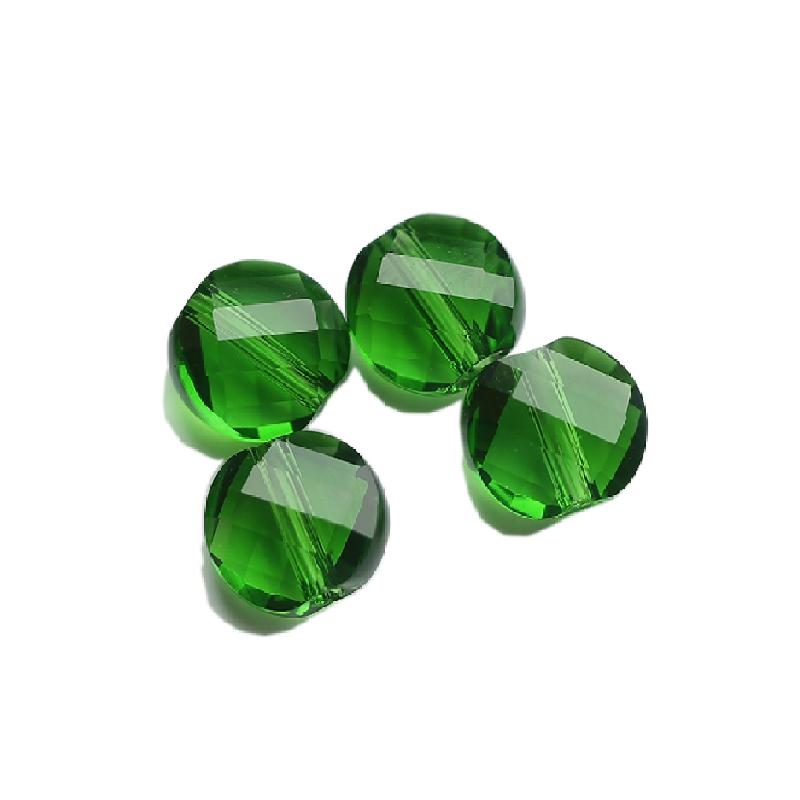 7 мм смешанный цвет лица стекло изгибающиеся бусины плоский Кристалл бисера для браслет цепочки и ожерелья Изготовление ювелирных изделий