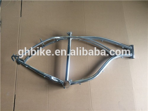 bicycle frame chrome bike bicycle frame set