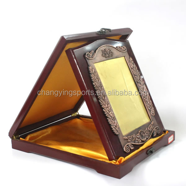 Wooden MDF Plaque Wooden Trophy And Awards Wooden Box 3069