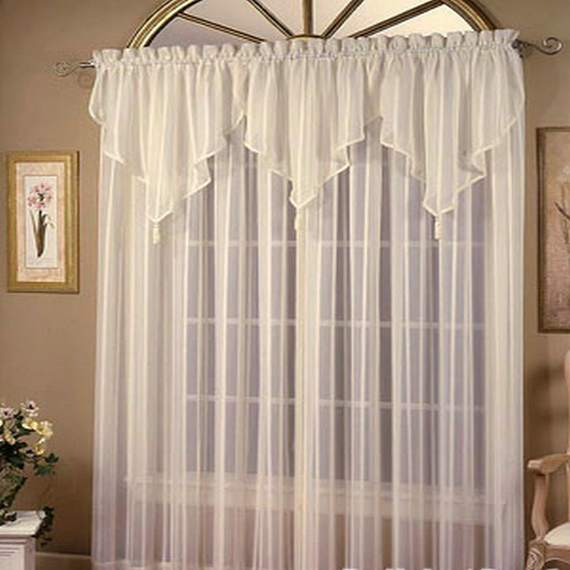 Mejor venta cortina de tela de encaje velo cortina identificaci n del producto 614316641 - Cortinas para tragaluz ...