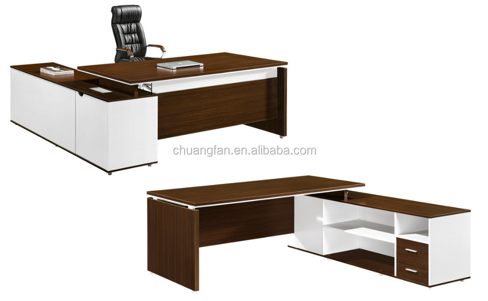 Lowest price executive wooden office table design buy for Md table design