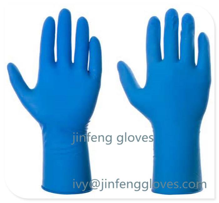 Long Red Kitchen Gloves,Kitchen Hand Gloves,Large Sinze Rubber ...