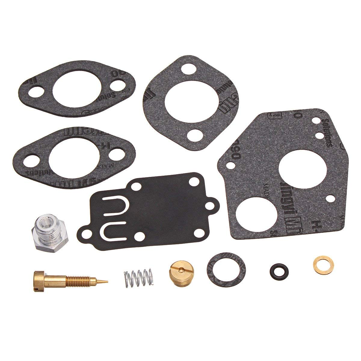 CoCocina Carburetor Carb Repair Rebuild Kit For Briggs Stratton 495606 494624 3HP-5HP
