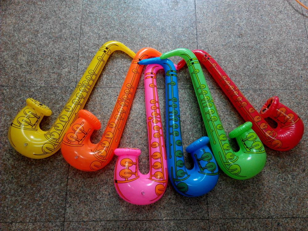 STOCK-inflatable saxophone instruments