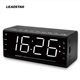 Factory price and high quality alarm clock with wireless connection radio New arrival Ten meters effective range