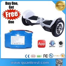 Buy Battery get Free Scooter 10'' Two Wheel Hoverboard Electric Delivery Finger Scooter for sale
