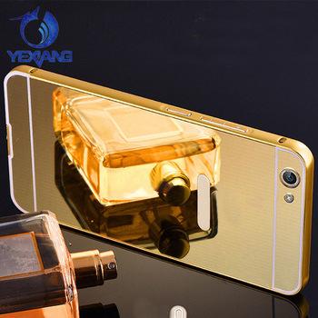 new product 77236 baf9b Fashion Luxury Metal Bumper Hard Pc Back Cover Mirror Case For Vivo V5  /aluminum Pc Mirror Phone Case For Vivo V5 V5plus Y67 Y66 - Buy Bumper Case  For ...