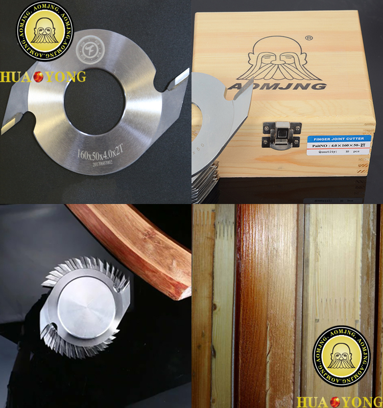 Wood Jointing Machines Parts TCT Finger Joint Cutter For Wood Cut