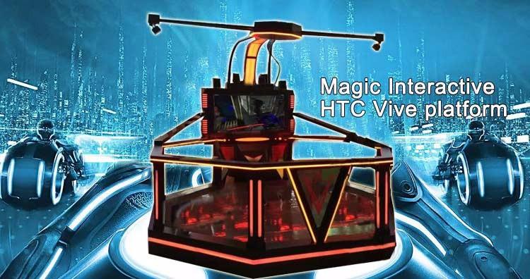 Oculus Rift cinema 9d walking vr Space Shooting games Fighter 9d vr simulator arcade video game machine htc vive