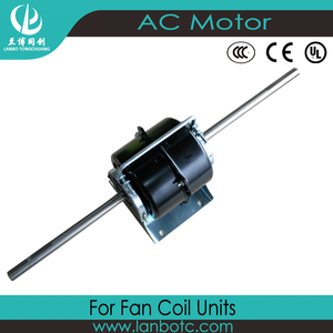 customized 1250rpm multi speed fcu motor for central air conditioner