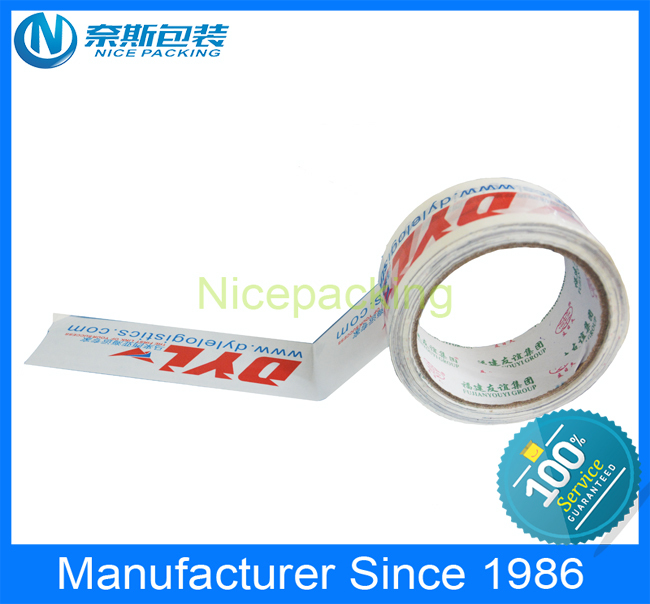 2014 Clear or transperant carton packing bopp adhesive tape/sealing tape manufecturer