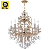 Maria theresa faux crystal chandelier lighting