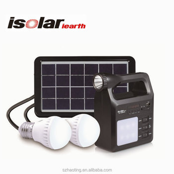 Mp3 Radio Portable Home Solar Panel