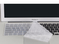 Cheapest Hot sell dustproof silicone keyboard protective film keyboard cover for Macbook11/12/13/15