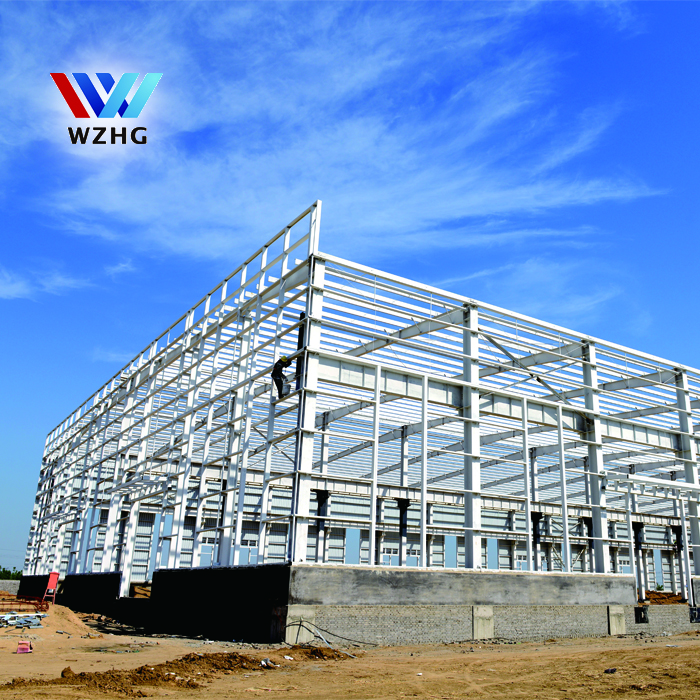 Low price of Prefabricated house light steel frame shed workshop warehouse steel Structure Plans drawing
