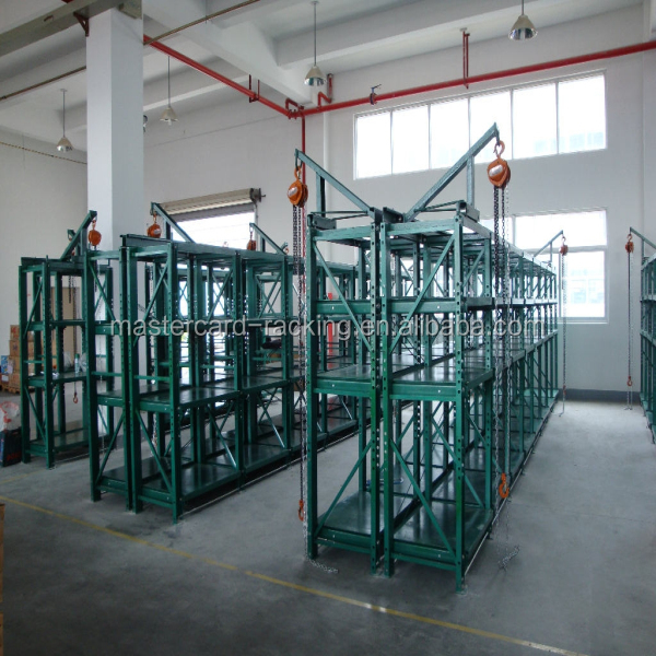 Warehouse storage steel Mold racks