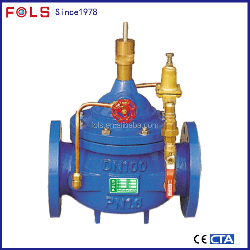 automatic ductile iorn flow control valve variable