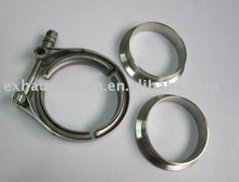 V-Band Clamp and flange for exhaust system