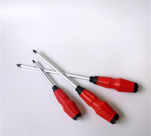 Good quality hand tool small plastic handle screwdriver/screw driver set screwdriver/household screwdriver tool set