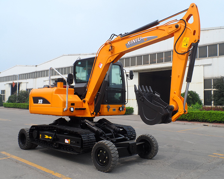 Best Price Rubber Tire Excavator With A Discount Buy