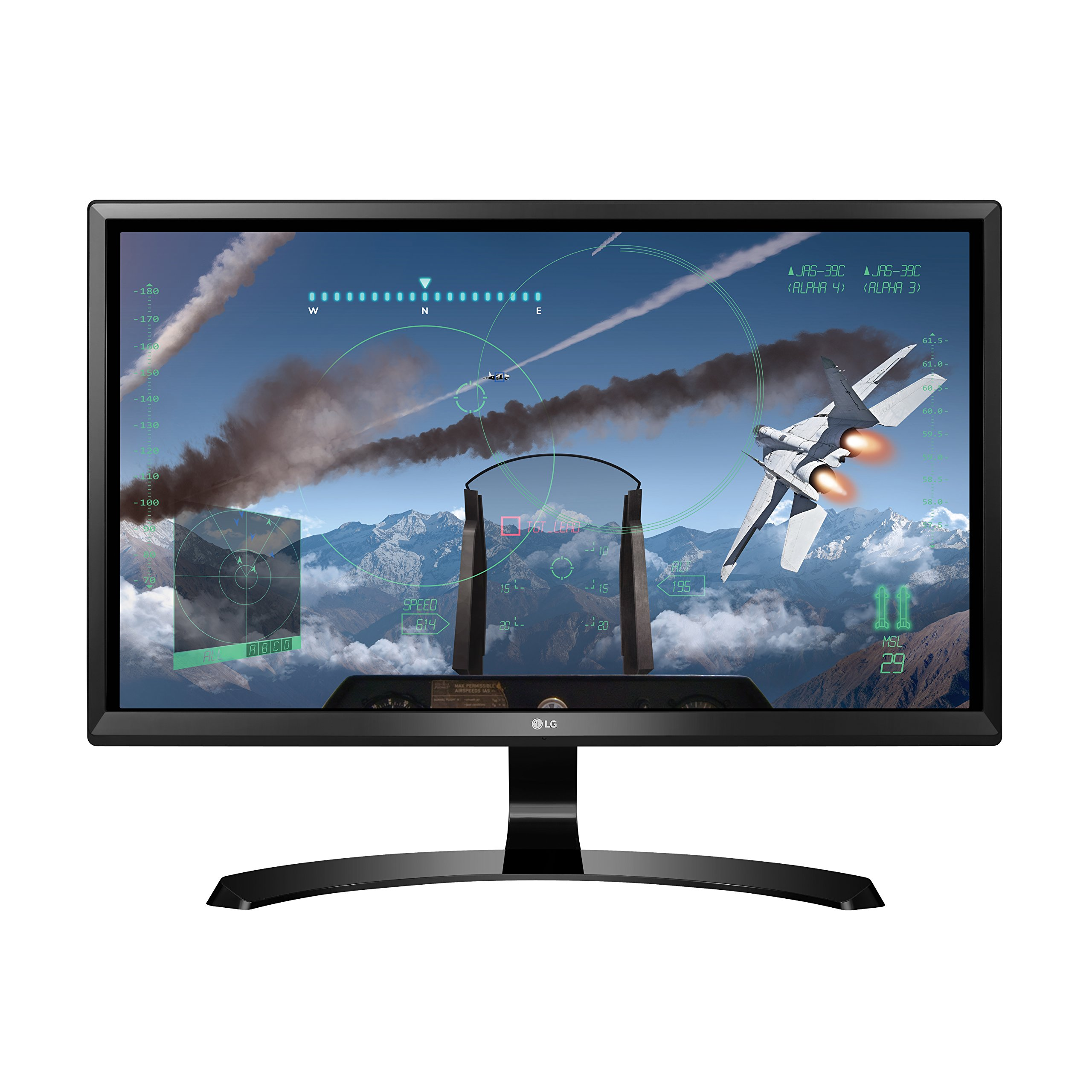 Get Quotations · LG 24UD58-B 24-Inch 4K UHD IPS Monitor with FreeSync