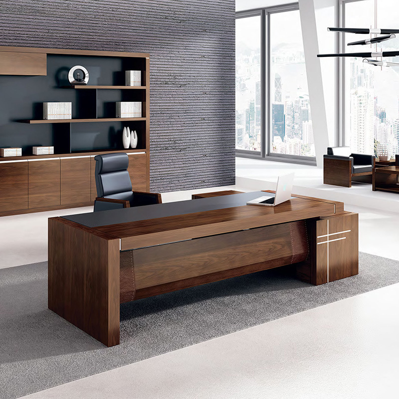 why is everyone talking about office table design for boss. Black Bedroom Furniture Sets. Home Design Ideas