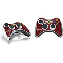 Mississippi State Xbox 360 Wireless Controller Skin - Mississippi State Logo Vinyl Decal Skin For Your Xbox 360 Wireless Controller