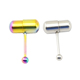 Fashion 316L stainless steel vibrating body piercing jewelry