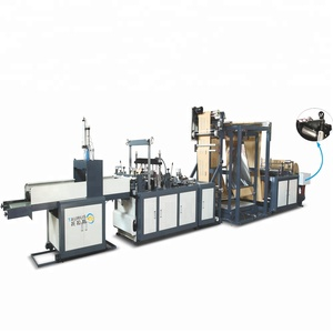 Taurus manual non woven bag making machine price non woven bag sewing machine