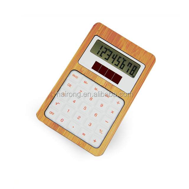Hairong cheap solar powered calculator for promotion