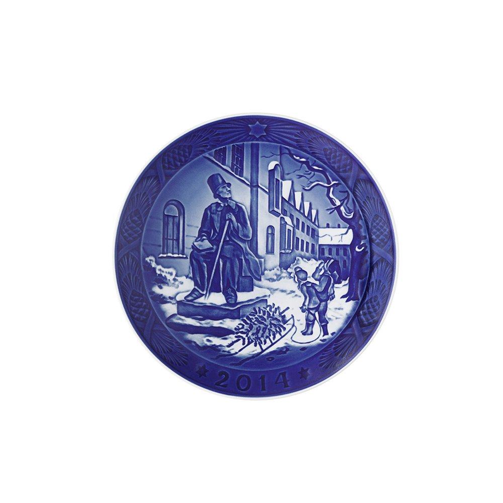 Royal Copenhagen 1901114 Christmas Plate 2014, Hans C Andersen