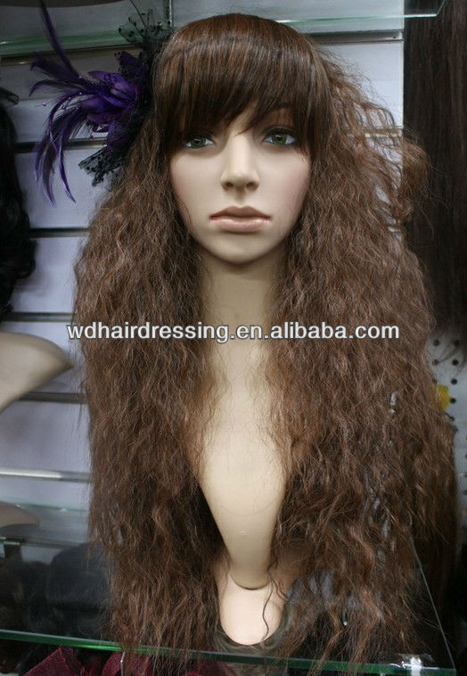 Curly Afro Weave Hairstyles Long Afro Wig Buy Long Afro Wig Curly