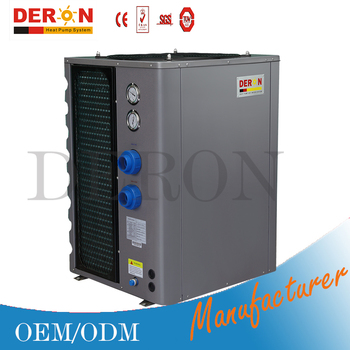 Swimming pool heat pump water heater 12kw save more electric for pool spa sauna buy electric for Heat pump water heater for swimming pool
