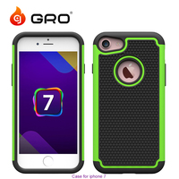 High Quality Mobile Phone Case For Iphone7,New Arrival Silicone+PC Armor Case For Iphone7